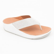 TL077 - Fitflop Crystall Toepost Silver