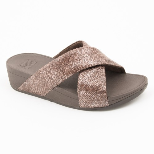TL331 - Fitflop Swoop Sandal Chocolate