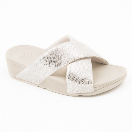 TL331 - Fitflop Swoop Sandal Silver